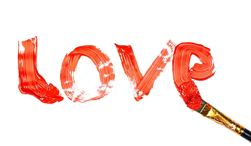 动物刷,红松,涂料,分离着色,雕刻图像,水平画幅,符号,白色背景,浪漫,标志