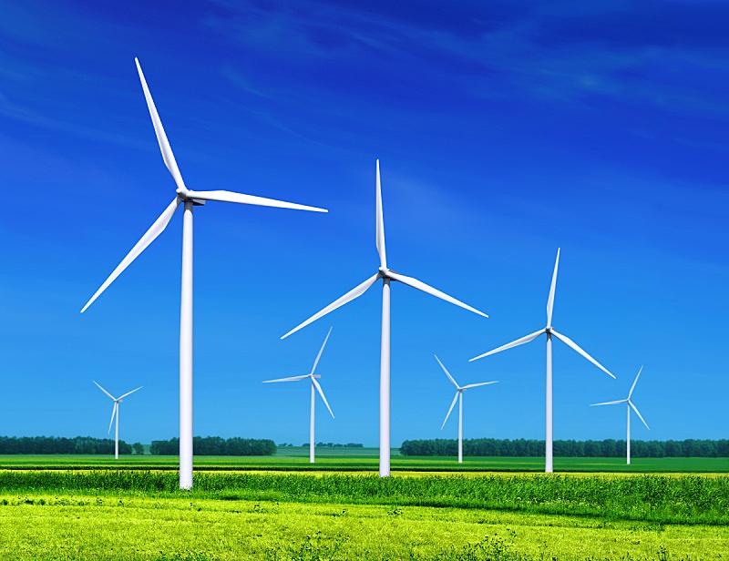 风轮机,自然,水平画幅,风力,能源,涡轮,工业,环境保护,彩色图片,电