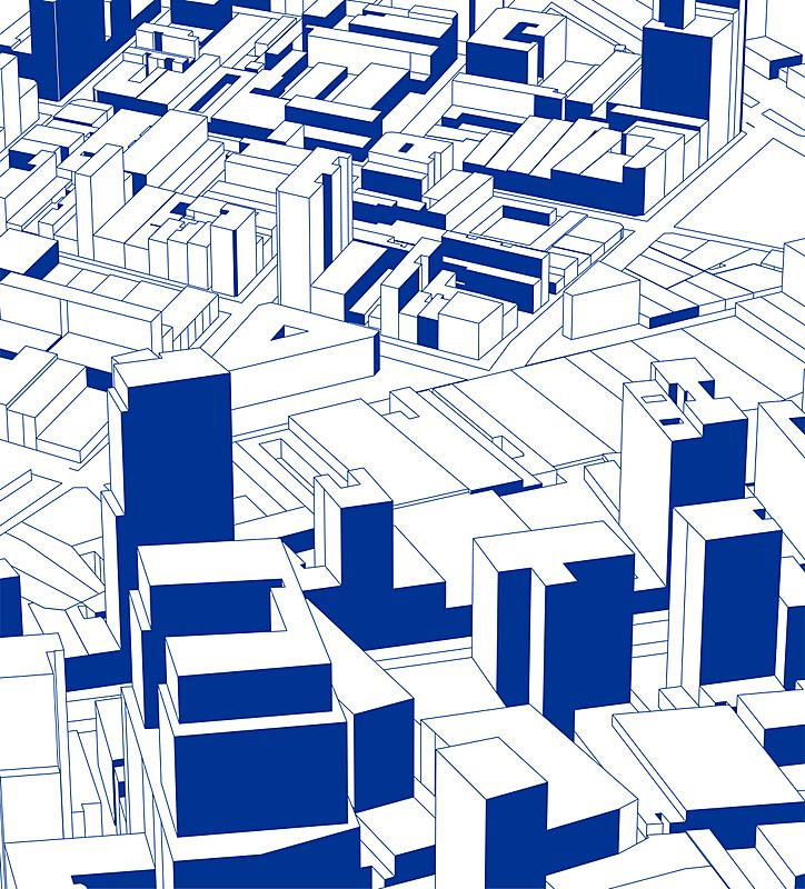 城市,现代,建筑业,背景,草图,蓝色,模型,线条,纹理