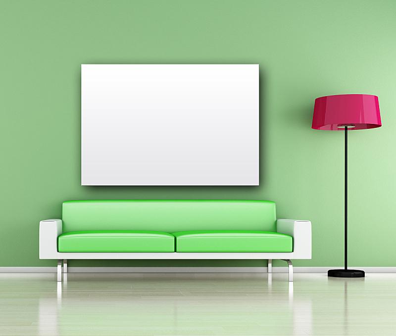 室内,极简构图,住宅房间,水平画幅,无人,房屋,家具,沙发,住宅内部,华贵