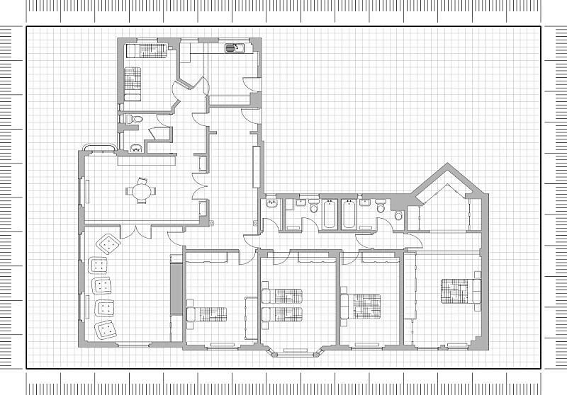 蓝图,公寓,建筑师,比例,测量工具,工程师,地板,工程,建筑业,几何学
