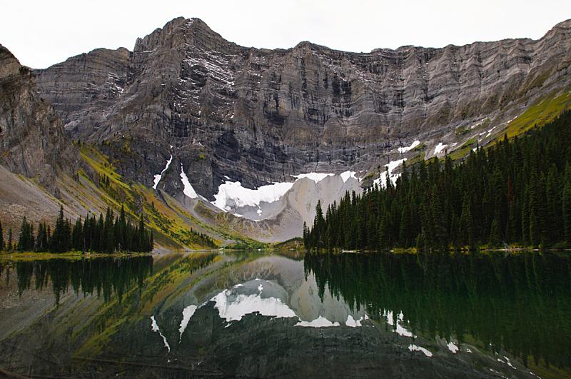 湖,罗森,自然,洛矶山脉,非都市风光,水平画幅,岩石,秋天,阿尔伯塔省,地质学