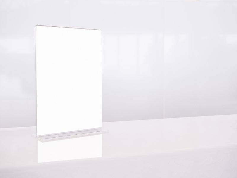 模板,白色,菜单,桌子,正下方视角,边框,轻蔑的,银行柜台,零售展示,留白
