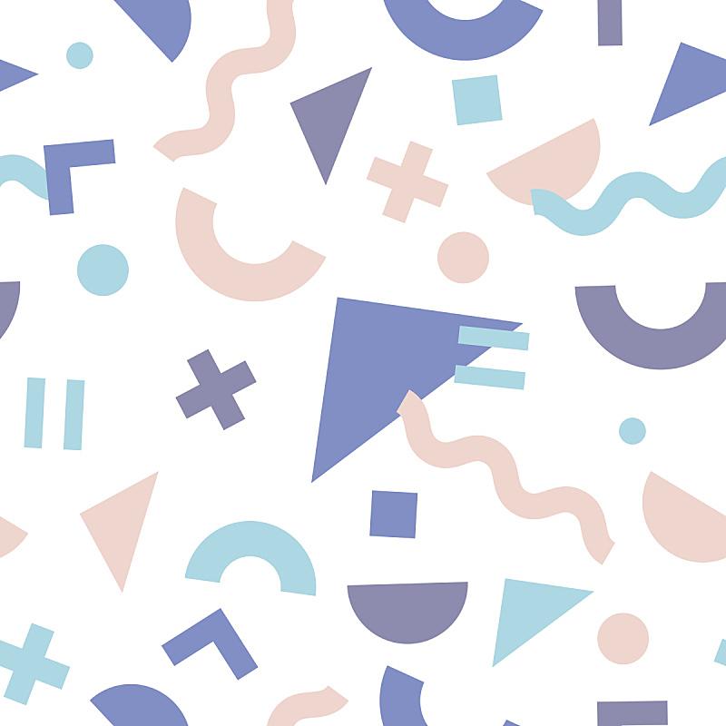 几何形状,四方连续纹样,时髦的,80年代风格,华丽的,美术工艺,纺织品,打印单据,简单,壁纸
