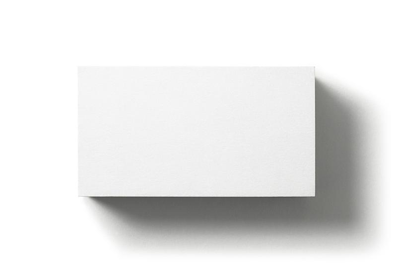 白色背景,空白的,在上面,看风景,名片,分离着色,一个物体,白色,纸板,纸
