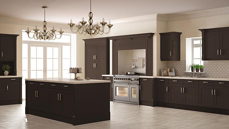 褐色,木制,厨房,简单,大特写,斯堪的纳维亚人,室内设计师,极简构图,开放式设计,普通住宅区