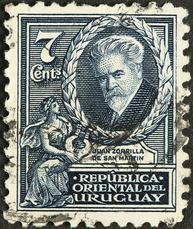 诗人,乌拉圭,19世纪风格,特拉华,布希曼族,垂直画幅,络腮胡子,人,肖像,仅成年人