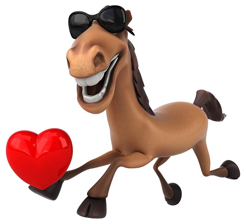 马,乐趣,自然,褐色,野生动物,水平画幅,绘画插图,健康保健,哺乳纲,动物