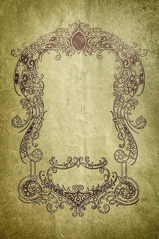 摇滚乐,纸,背景,花坛,纪念匾,金属奖牌,牛皮纸,垂直画幅,留白,复古