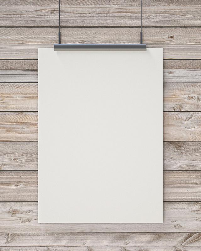 垂直画幅,厚木板,背景聚焦,绞刑,白色,空白的,木制,办公室,边框