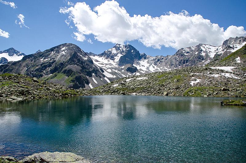 奥地利,阿尔卑斯山脉,上阿迪杰,天空,水平画幅,地形,雪,瀑布,冰河,无人
