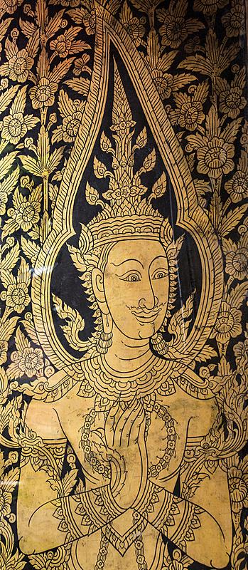 泰国,美术绘画,垂直画幅,式样,佛教,无人,亚洲,全景,艺术品,摄影