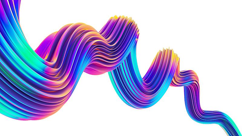 全息图,霓虹灯,设计元素,创造力,时髦的,纹理效果,绘画插图,金属,光