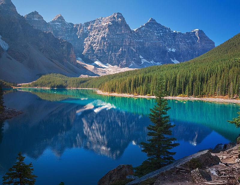 自然,水,公园,水平画幅,云,无人,户外,云景,加拿大,国内著名景点