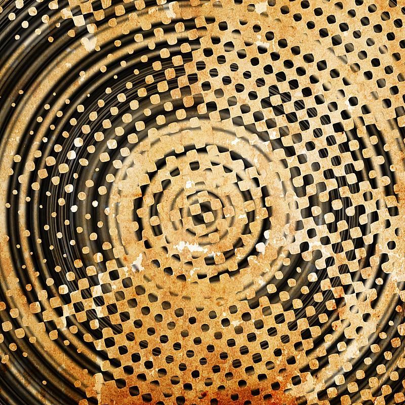圆形,摇滚乐,褐色,式样,洞,风化的,无人,雕刻物,抽象,斑点