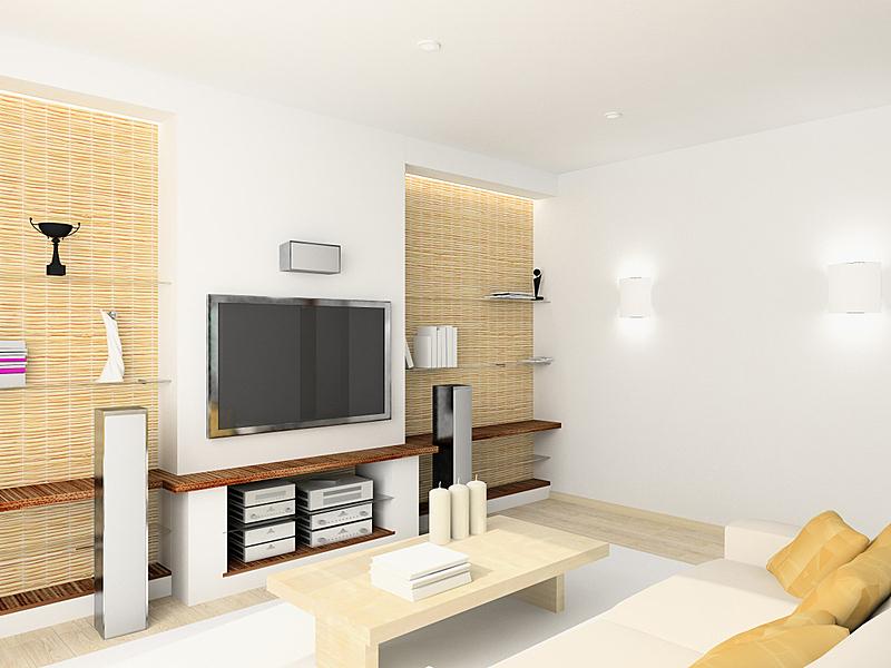 现代,室内,起居室,三维图形,美,艺术,座位,水平画幅,墙,家庭生活