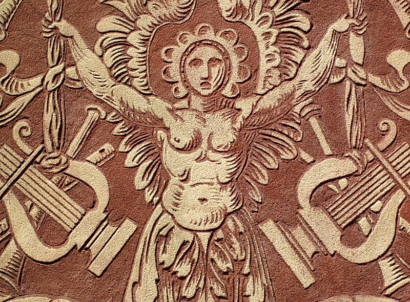 雕刻物,圣塞西莉亚,托尔切洛,肯辛顿切尔西区,合唱团,纪念匾,古罗马,悲痛,教堂,水平画幅