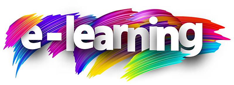 电子培训,标志,色彩鲜艳,笔触,水平画幅,绘画插图,全景,画笔,俄罗斯,培训课