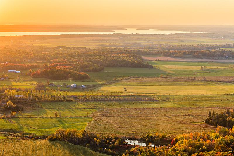 秋天,全景,峭壁,水平画幅,地形,无人,魁北克,户外,山谷,2015年