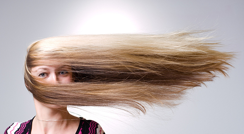 风,头发,长发,人的脸部,金色头发,影棚拍摄,肖像,人,白人