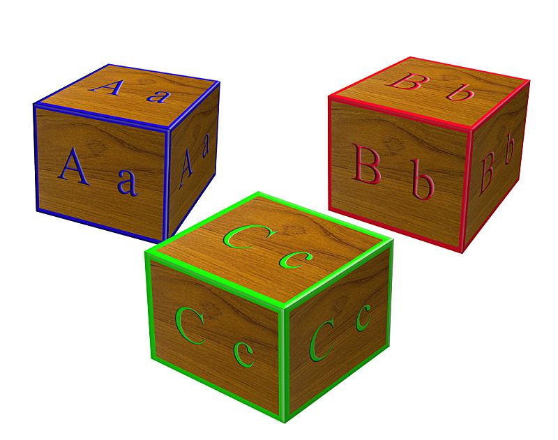 积木,字母表次序,英文字母B,字母,水平画幅,形状,无人,块状,幼儿园,拼写