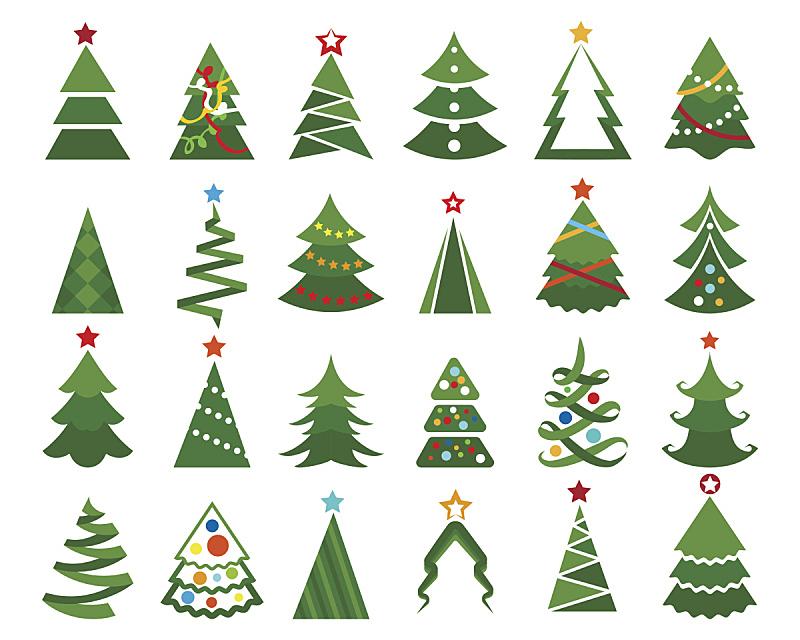 圣诞树,彩色图片,杉树,明星,一月,花环,手艺,松科,十二月,圣诞装饰