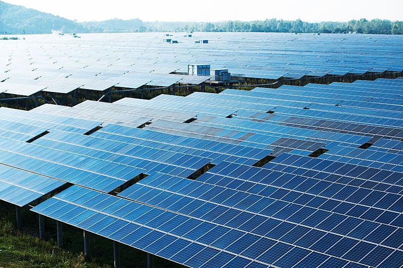 太阳能电池板,替代能源,多样,垂降,天空,水平画幅,能源,无人,格子,干净