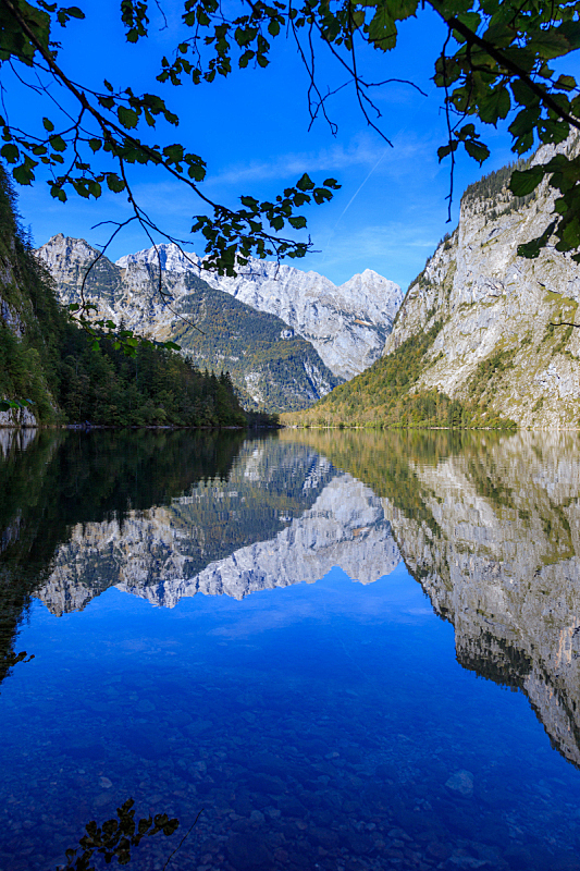 自然美,自然,巴伐利亚,环境,云,夏天,户外,天空,山谷,山脉
