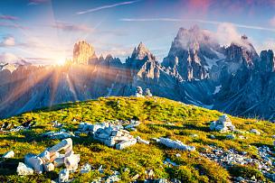 夏天,多色的,苏打,山脉,瑞士,阿尔卑斯山脉,瓦雷多三尖峰,山,天空,水平画幅