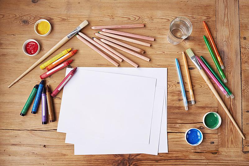 创造力,提举,勇气,彩色蜡笔,蜡笔,手工艺设备,蜡笔画,铅笔,学校用品,手艺