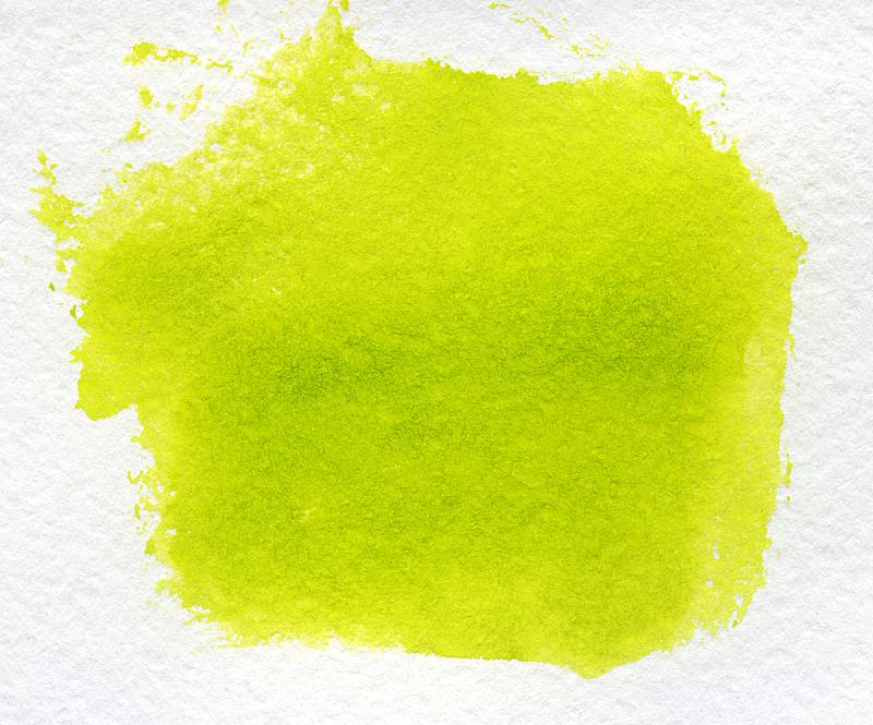 水彩画,黄色背景,水平画幅,纹理效果,绘画艺术品,绿色,无人,色彩鲜艳,抽象,涂料