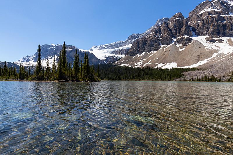湖,加拿大落基山脉,冰河,水,天空,美,水平画幅,主干路,阿尔伯塔省,无人