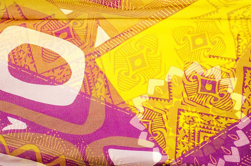纺织品,丝绸,纹理,抽象,美,艺术,水平画幅,形状,无人,绘画插图