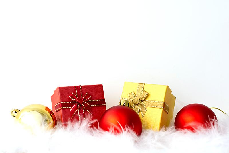 球体,红色,包装纸,翎毛,金色,留白,白色背景,白色,文字