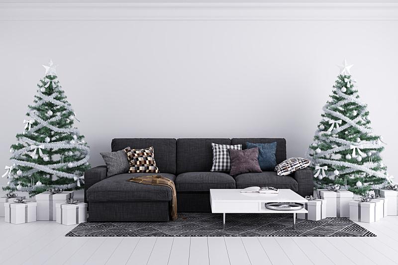 室内,背景,冬天,华丽的,圣诞装饰物,十二月,图像,模板,传统节日