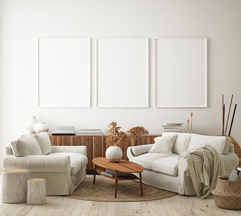 边框,现代,背景,三维图形,室内,正下方视角,轻蔑的,起居室,高雅