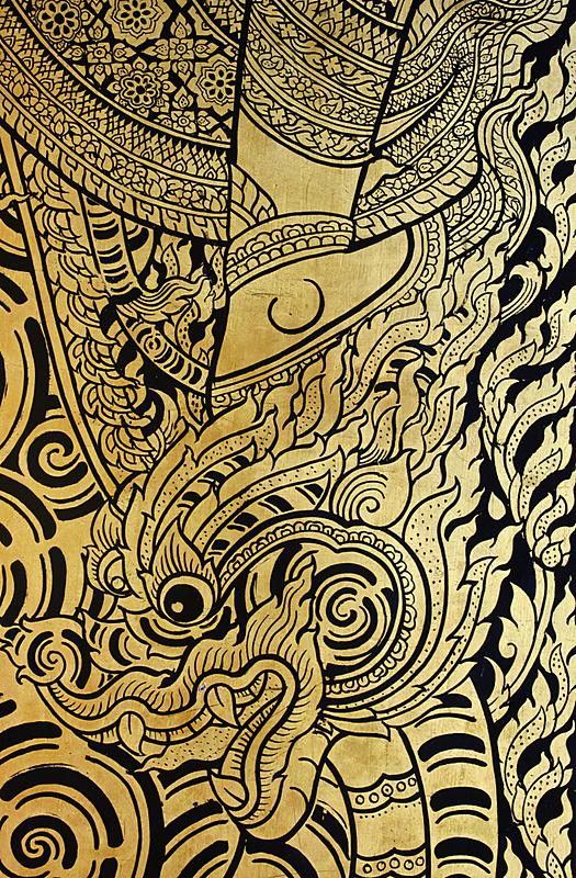 狮子,传统,垂直画幅,无人,古老的,装饰物,泰国,寺庙