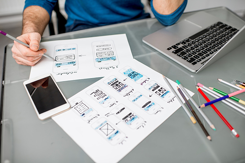 设计师,办公室,用户体验,计算机软件,男商人,计算机语言,程序员,技术,申请表,计算机
