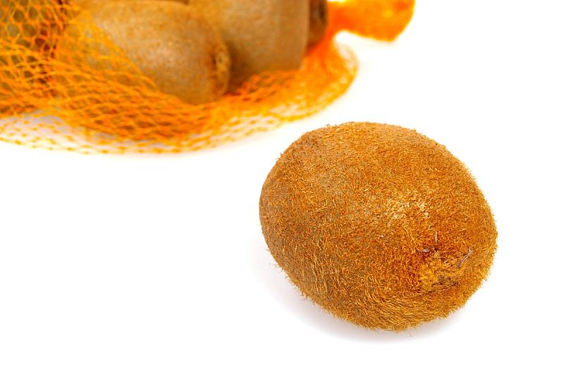 褐色,猕猴桃,分离着色,自然,水平画幅,水果,无人,有机食品,生食,熟的