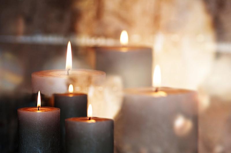 蜡烛,宁静,死的,基督教,死亡节,烛光,降临节,灵性,教堂,墓地