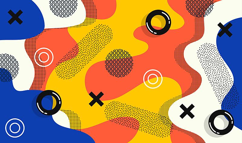 模板,矢量,式样,做计划,多色的,巨大的,四元素,华丽的,斯堪的纳维亚半岛,简单
