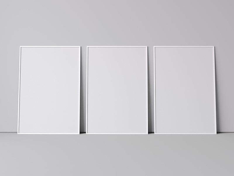 白色,空白的,边框,三维图形,住宅房间,式样,水平画幅,建筑,无人,静止的