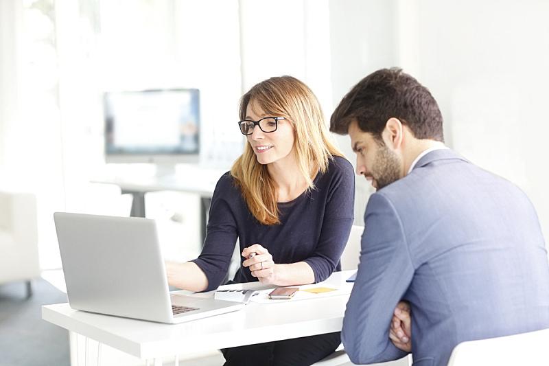 团队,办公室,助手,商业规划,银行业,银行,看,会议,计算机,商务会议