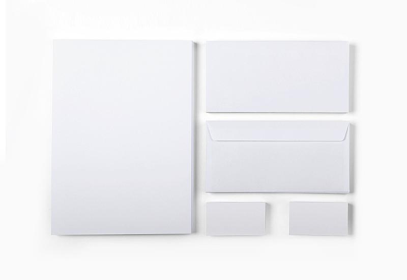 信封,名片,纸,分离着色,高雅,室内,玩具屋,图像,模板