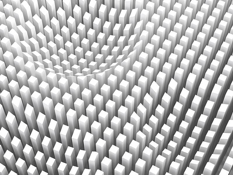白色,三维图形,图表,平视角,柱子,留白,未来,灵感,水平画幅,纹理效果