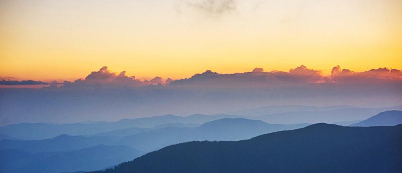 山,自然美,清迈省,天空,美,禅宗,灵性,水平画幅,美人,户外