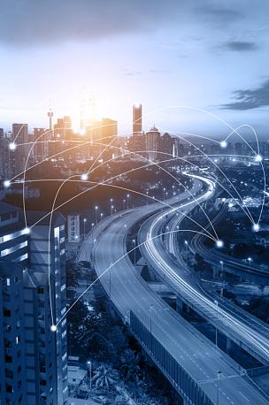 吉隆坡,都市风景,概念,网线插头,城市广场 i,无线技术,全球商务,马来西亚,城市,技术