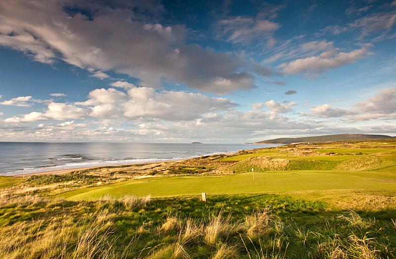 高尔夫球运动,海洋,自然美,链环,高尔夫球场,卡伯特道,沙土障碍,高尔夫旗,新斯科舍,水