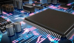 电脑芯片,绘画插图,三维图形,技术,波形,概念,电路板,半导体,母板,神经系统