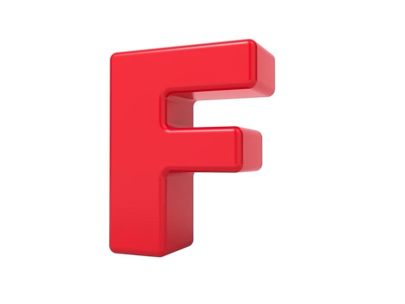 英文字母f,红色,三维图形,法郎符号,洗礼盘,字母,艺术模特,水平画幅,形状,符号